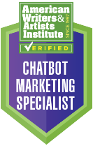 Chatbot Marketing Specialist Certification Badge