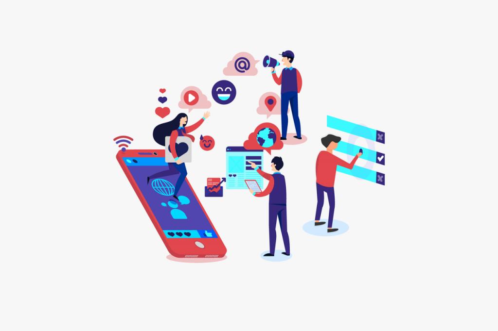 Digital Marketing Graphic - social media copywriting